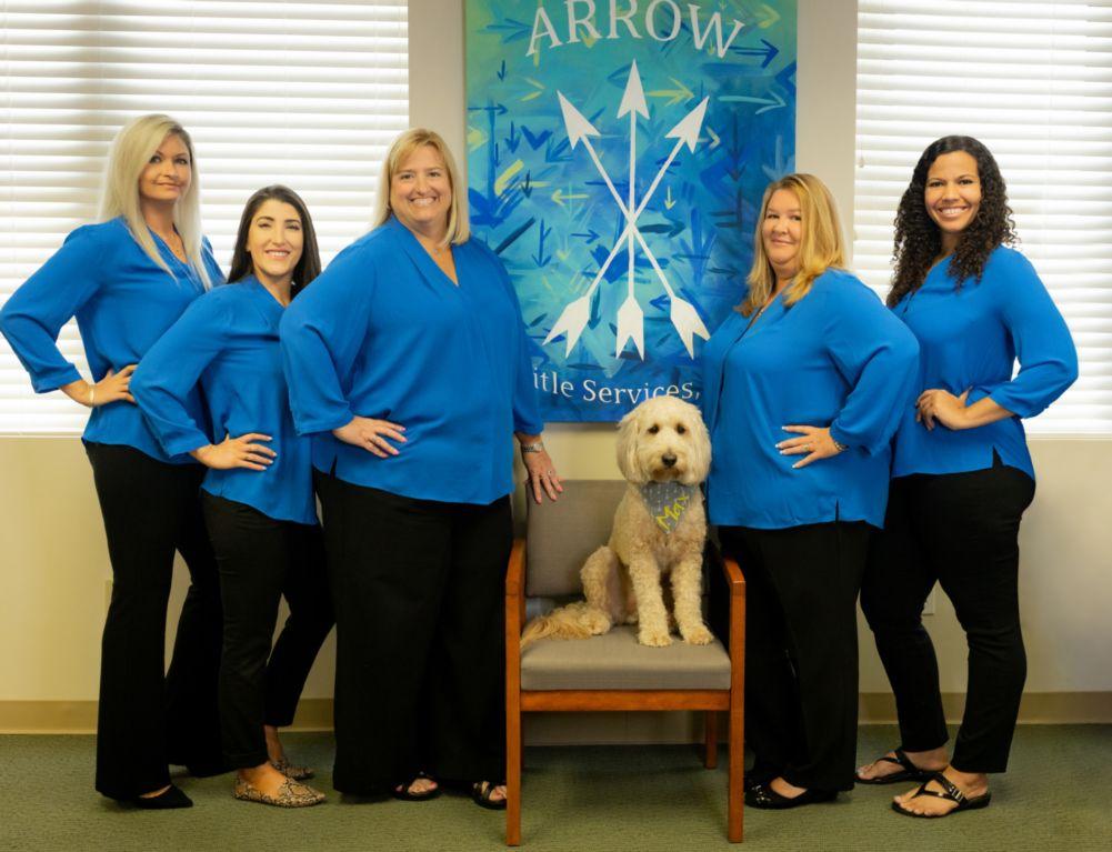 portrait of arrow title services team